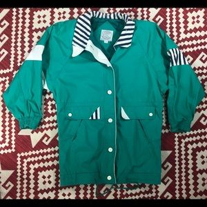 Vintage Women's Be In The Current Seen Jacket